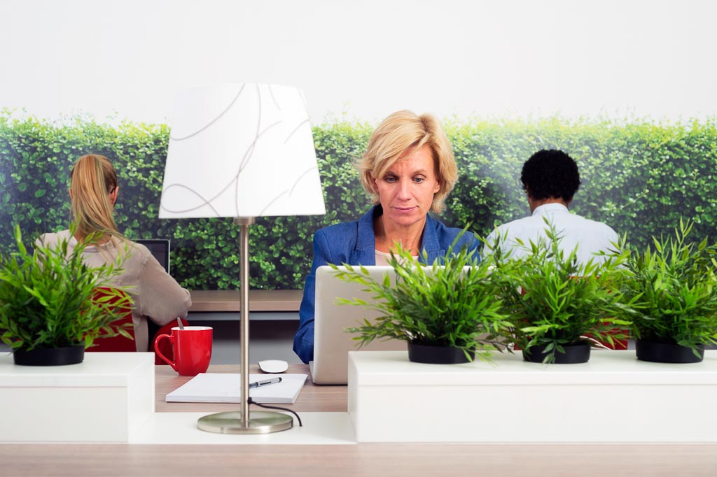Sustainable Hot Desking