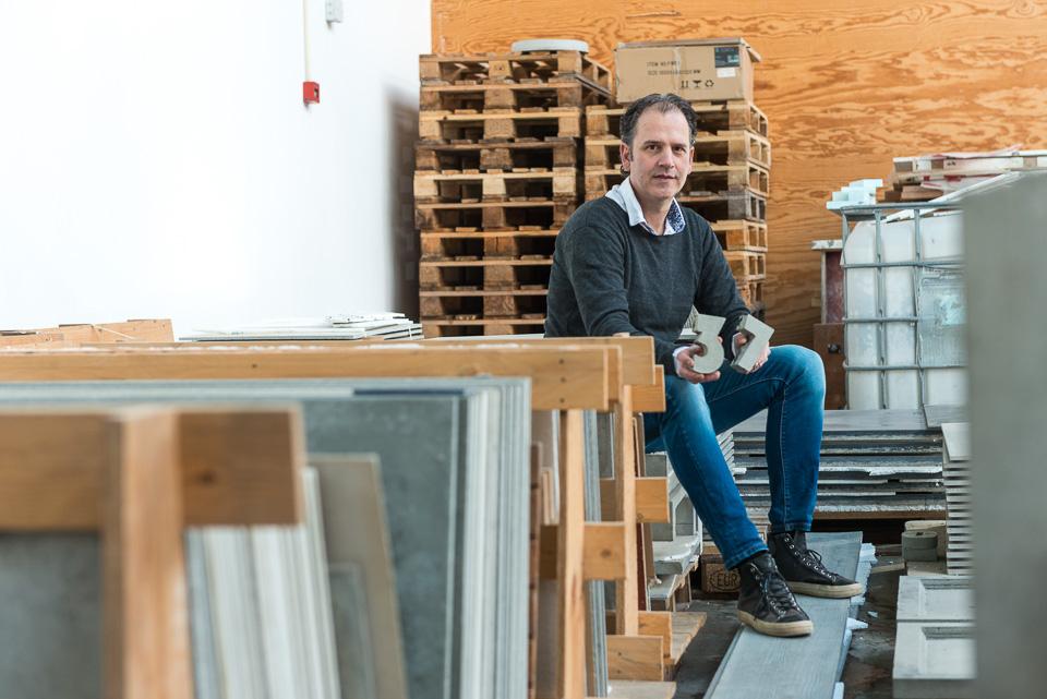 Bewonersportret Rene Bollen - Betonloods - Concreet Design